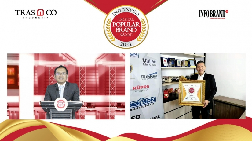 Raih Indonesia Digital Popular Brand Award 2021, DEKKSON Makin Populer di Kategori Kunci dan Handle Pintu