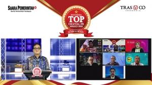 Apresiasi untuk BUMN dan BUMD yang Sukses Bangun Digital PR