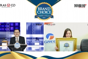 Duduki Peringkat Teratas, Gree Sabet Brand Choice Award 2021