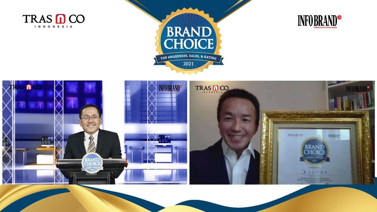 Produk Asal Jepang Disukai Konsumen Indonesia, SENKA Sabet Brand Choice Award 2021