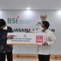Gandeng Bank Syariah Indonesia Baznas Kejar Penerimaan Zakat Rp300 Triliun