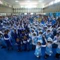 FFI, Bagikan Produk Bergizi Berbasis Susu untuk Anak PAUD dan Posyandu