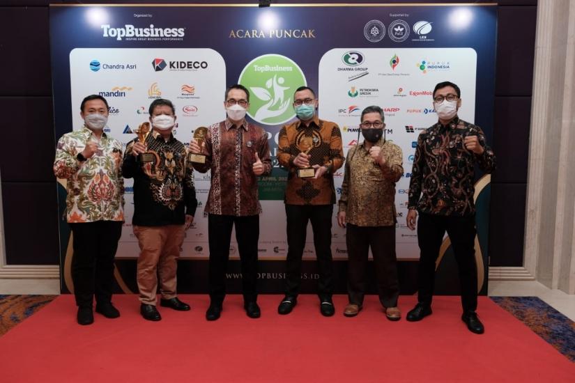 Kideco Raih Bintang Lima Top CSR Award 2021