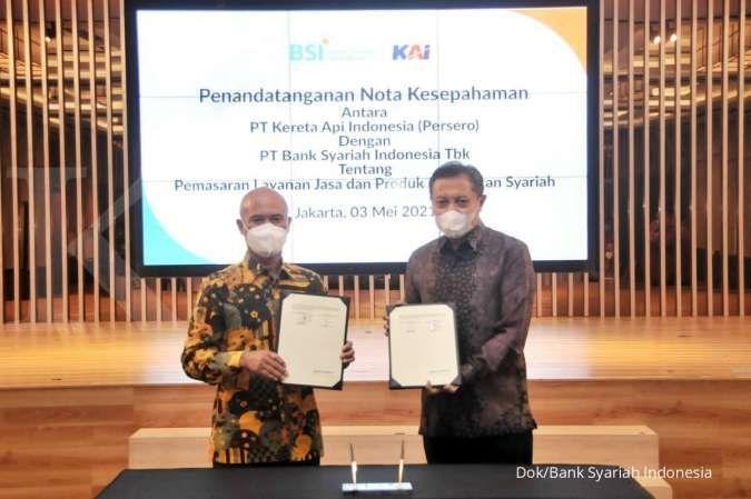 BSI Gandeng KAI dan Jasa Raharja Tingkatkan Bisnis