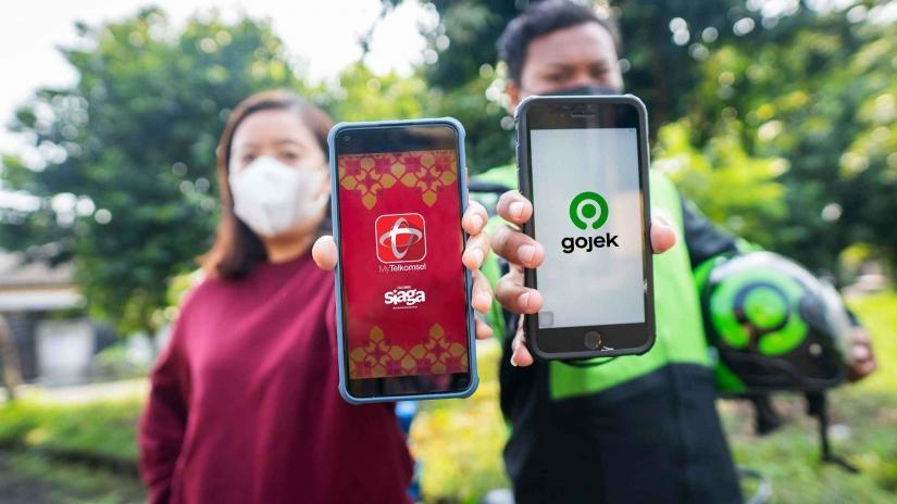 Telkomsel Tambah Investasi ke Gojek US$300 juta