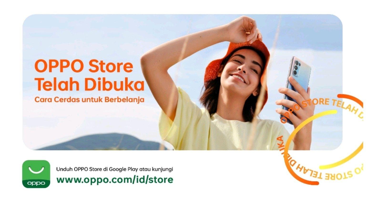 Penuhi Kebutuhan Belanja Online, OPPO Hadirkan OPPO Store