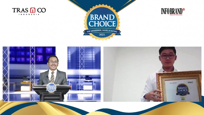 Miliki Gizi Lengkap, Milna Sabet Brand Choice Award 2021