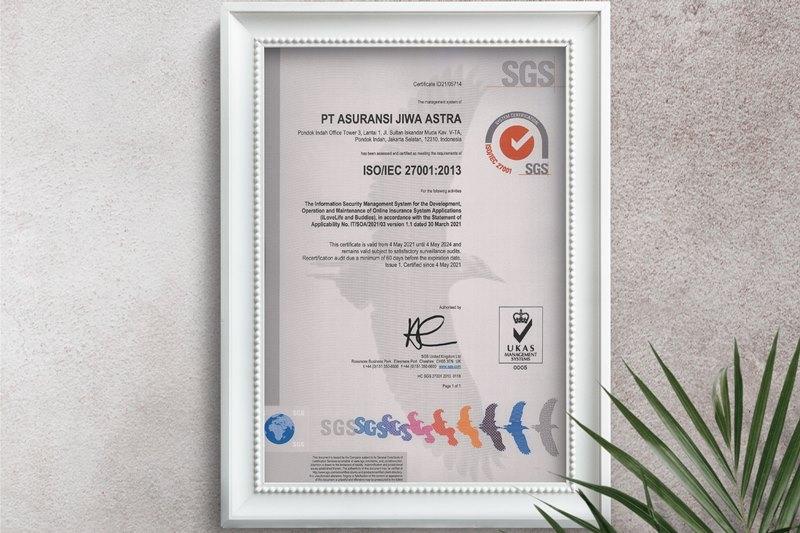 Raih ISO 27001, Astra Life Pastikan Keamanan Data Nasabah
