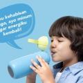 Olike Smart Bottle, Bikin Anak jadi Makin Pintar