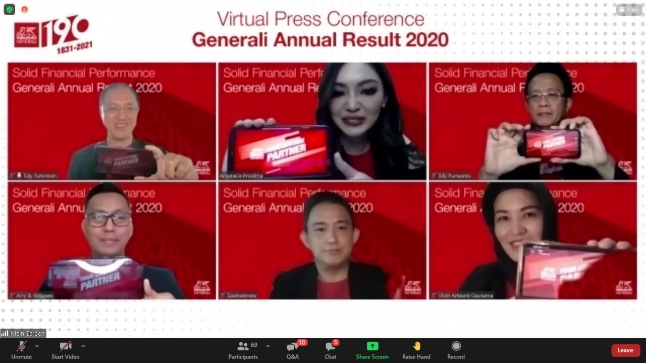 Generali Cetak Laba Rp263,6 Miliar, Tertinggi Sejak Beroperasi di Indonesia