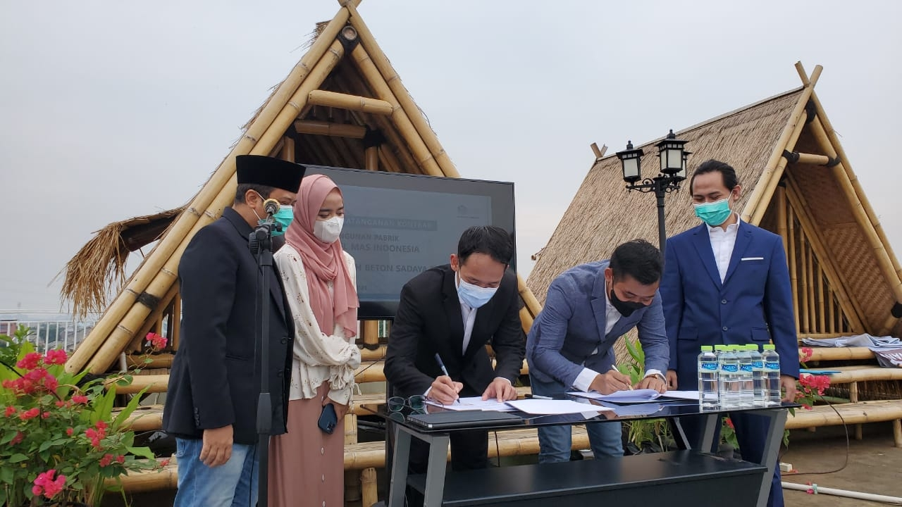 BEBS Gandeng Perusahaan Yusuf Mansyur Teken Kontrak Rp125 Miliar