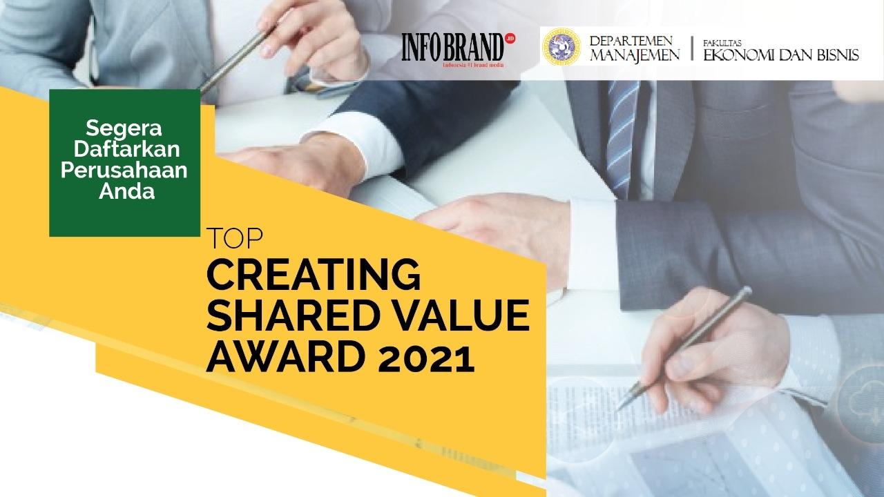 Top CSV Award 2021, Ajang Penghargaan Untuk Perusahaan Tingkatkan Program CSV