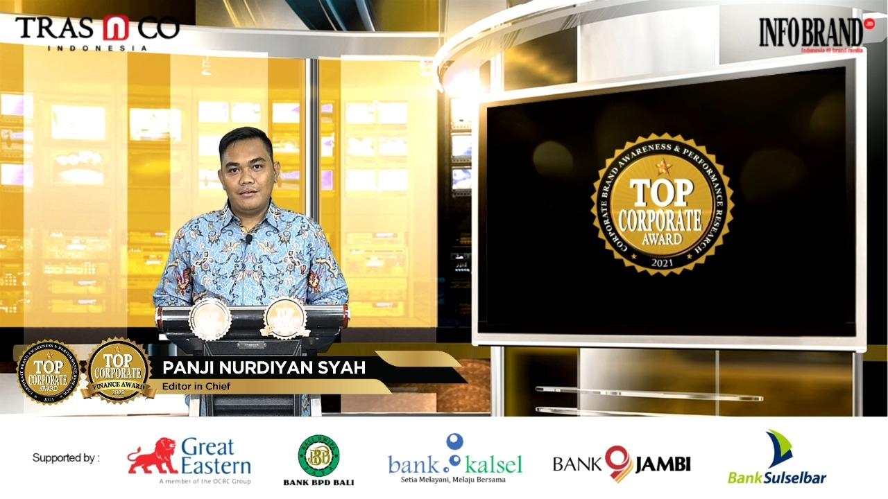 250 Emiten Menangkan Top Corporate Award 2021
