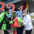 Bantu Ojol dan Umum di Masa PPKM, Pelindo 1 Salurkan Sembako