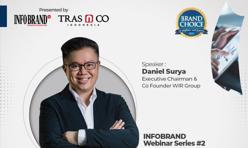 Webinar Brand Choice Award 2021, Memahami Branding Frameless Future