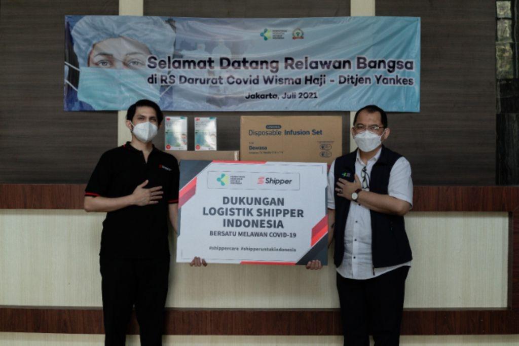 Shipper Genjot Distribusi Alat Kesehatan ke Rumah Sakit Darurat Covid-19