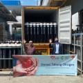 Gandeng Kemenkes, UOB Indonesia Donasi 500 Lebih Tabung Oksigen
