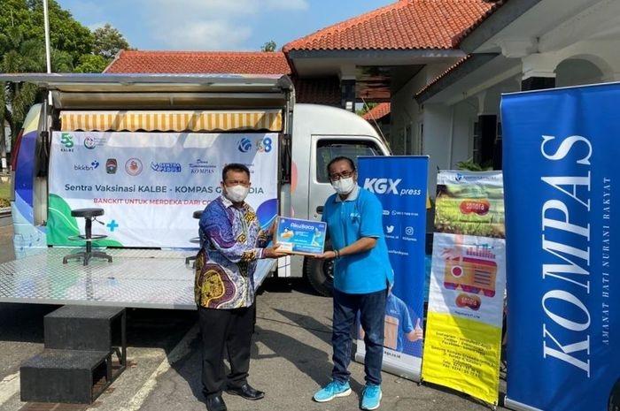Kalbe Ajak Kompas Gramedia Dukung Percepatan Vaksinasi Warga Kabupaten Bandung