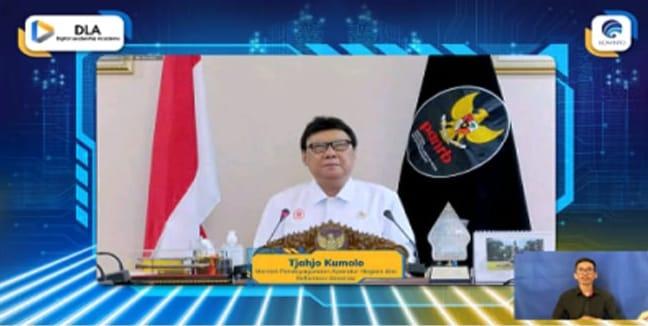Sinergi Lintas Nasional-Global, Menteri Johnny: Program DLA Dukung Pengembangan Ekosistem Digital Indonesia