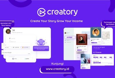 Ayo Kenalan dengan Creatory, Platform Digital Dukung Kemajuan Content Creator dan Brand di Indonesia