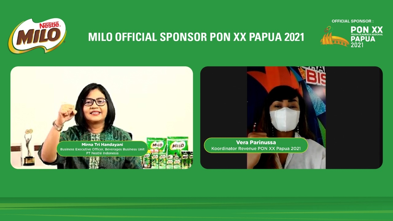Milo Resmi Jadi Official Sponsor PON XX Papua 2021