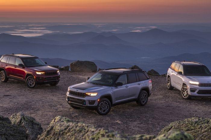 Akhir 2021, Jeep Grand Cherokee Hybrid Siap Dipasarkan Secara Global
