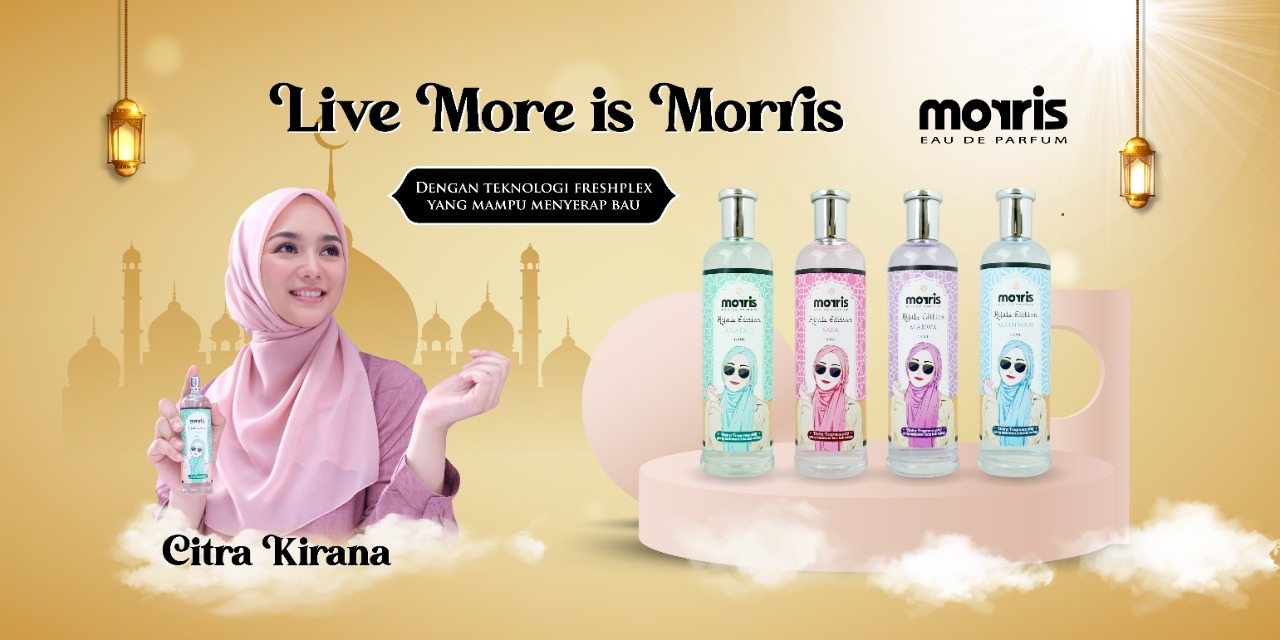 Morris Eau De Parfum: Solusi Parfum Cantik Khusus Hijabers
