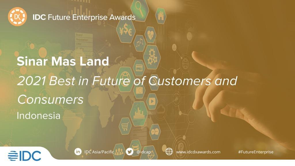 Sinar Mas Sabet Penghargaan IDC Future Enterprise Awards 2021