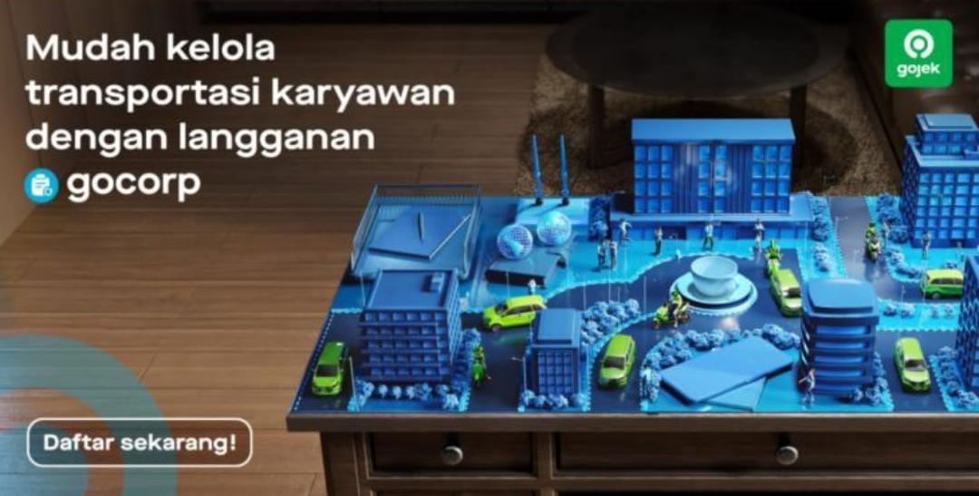 Gojek Bagi Solusi Bantu Pelaku Usaha Atur Tunjangan Transportasi Karyawan