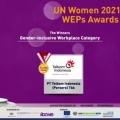 Promosikan Kesetaraan Gender di Tempat Kerja, Telkom Raih Penghargaan UN Women