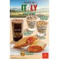 McDonald's Luncurkan Menu Baru, Taste of Italy!